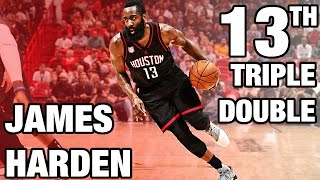 getlinkyoutube.com-James Harden 13th Triple Double | 40 Pts, 12 Ast, 12 Reb | 01.17.17