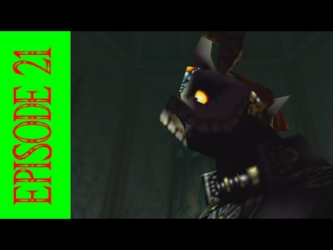 Zelda Ocarina Of Time Episode 21 - HE RIPPED HIS FACE OFF!!
