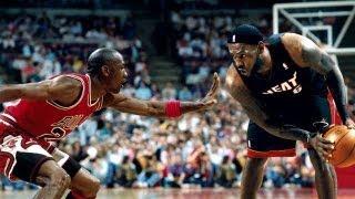 "getlinkyoutube.com-Michael Jordan vs LeBron James ""Clash of Legacy"" 2013 | HD |"