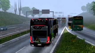getlinkyoutube.com-Euro Truck Simulator 2 Bus trip to Gdansk with Marcopolo Paradiso G7 1800 DD p1