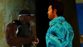 getlinkyoutube.com-50 Cent vs Tommy Vercetti  - GTA IV + Carmageddon Mod