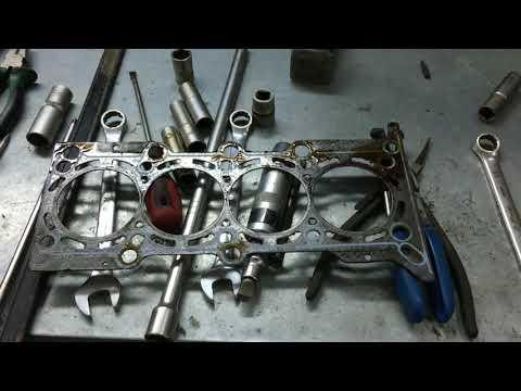 Двигатель L2C (Cobalt, Ravon, Gentra) - Замена прокладки ГБЦ.