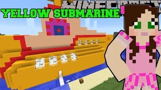 getlinkyoutube.com-Minecraft: YELLOW SUBMARINE (THE BEATLES MUSICAL INSTRUMENTS & WORLD!) Mod Showcase