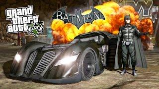 getlinkyoutube.com-GTA 5 Mods ULTIMATE BATMAN MOD! GTA 5 Batman, Batmobile, Batwing & Batpod Mod! (GTA 5 Mods Gameplay)