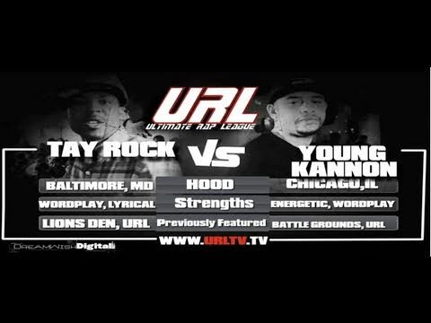 SMACK \ URL Presents Young Kannon vs Tay Rock