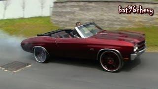 "getlinkyoutube.com-Candy Brandywine 71 Chevelle SS Vert on 24"" Forgiatos Pt. 1 - 1080p HD"