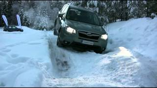 getlinkyoutube.com-2013 Subaru Forester Winter Off Road Test (X-MODE)
