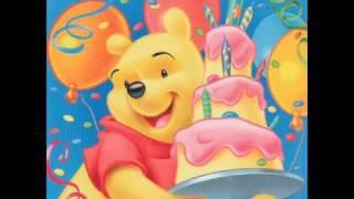 getlinkyoutube.com-Happy Birthday to you by Winnie the Pooh
