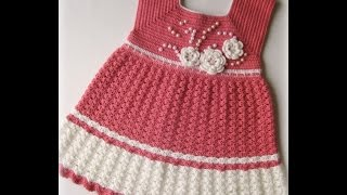 getlinkyoutube.com-Crochet Patterns  for free  crochet baby dress  1491