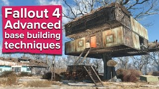 getlinkyoutube.com-Fallout 4 - Advanced Base Building Techniques (PC gameplay)
