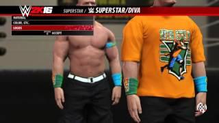 getlinkyoutube.com-WWE 2K16 HOW TO MAKE JOHN CENA 15X Attire