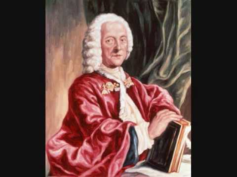 Georg Philipp Telemann- Concerto in E major for flute, oboe d'amore, viola d'amore &amp; strings-Allegro