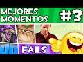 APM? - MEJORES MOMENTOS y FAILS [#3] elrubiusOMG, Vegetta777, Fernanfloo, NexxuzHD, Willyrex...