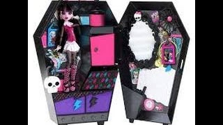 getlinkyoutube.com-Monster High Fangtastic Locker review