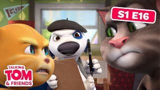 getlinkyoutube.com-Talking Tom and Friends - Hank the Director (Episode 16)