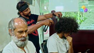 Uppum Mulakum - Hair Cutting │Flowers│EP# 584
