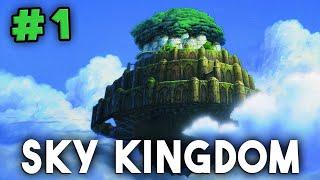 SKY KINGDOM - Minecraft Modded Survival Ep.1 - SURVIVOR! (Modded Survival + Custom Map)