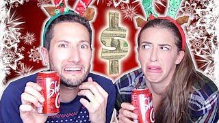 Trying Dollar Store Food w/ Rachel Ballinger (CHRISTMAS EDITION)