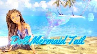 getlinkyoutube.com-DIY - How to Make: Doll Mermaid Tail - Handmade - Doll - Crafts