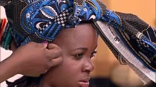 getlinkyoutube.com-Dina Simão ensina  amarrar turbantes | Sexto Sentido | TV Zimbo |