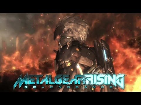 Metal Gear Rising: Revengeance (English) 'TGS 2012 Trailer' TRUE-HD QUALITY