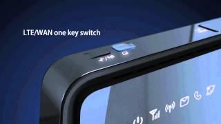 getlinkyoutube.com-Huawei B890 4G LTE Wireless Router