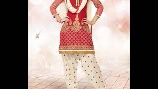 Patiala Shalwar Kameez suit designs 2016