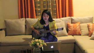getlinkyoutube.com-Completely by Ana Laura (Facing the Giants OST) - guitar cover by Inday