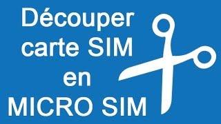 getlinkyoutube.com-✄ Découper carte SIM en MICRO Sim - iPhone Samsung Nokia