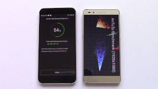 getlinkyoutube.com-Meizu MX5 vs Honor 7 Antutu Benchmark by GizChina.it