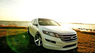 "getlinkyoutube.com-Honda Accord Crosstour on 20"" VVS-CV3 Concave Wheels / Rims"