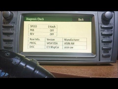 Где в Toyota Yaris Verso диагностический разъем