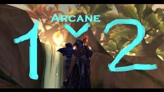 getlinkyoutube.com-Arcane mage pvp 1v2 arena patch 6.2