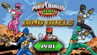 getlinkyoutube.com-Games: Power Rangers Dino Charge - Dino Duels