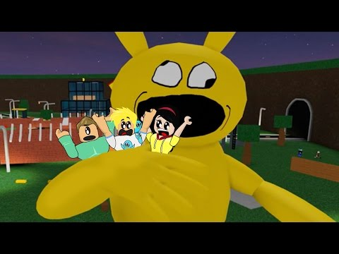Friends Eaten Together by a very hungry Pikachu in Roblox / Gamer Chad Plays Games