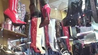 getlinkyoutube.com-Sexxxy Boots Window Shopping