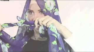 getlinkyoutube.com-4 Cara memakai Jilbab ala Zaskia Sungkar Style