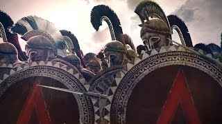 getlinkyoutube.com-300 Spartans vs 10000 Persians Siege of Sparta Rome 2 Total War