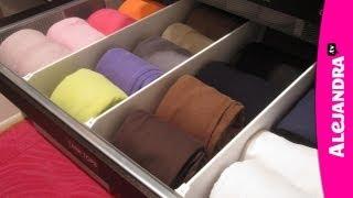 getlinkyoutube.com-How to Organize Dresser Drawers & Fold Underwear, Bras, and Socks