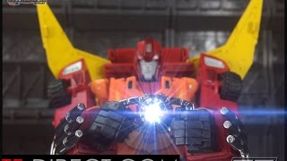 getlinkyoutube.com-DX9 CARRY D06 - Transformers Masterpiece Rodimus Prime