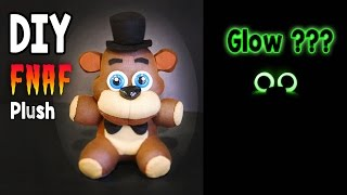 getlinkyoutube.com-DIY Glow in the Dark Freddy Plush FNAF Tutorial | Collaboration with ArtzieRush