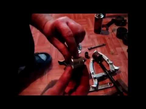 Замена втулки шатуна, развёртка, сборка поршня VW T4