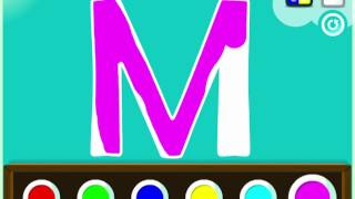 getlinkyoutube.com-Bogga Alphabet - Make Magnet Letters!