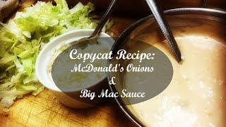 getlinkyoutube.com-Copycat Recipe: How to Make McDonald's Onions & Big Mac Sauce (Big Boy)