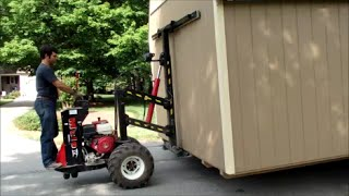 getlinkyoutube.com-One Man Show - Delivery & Set up of 12x20 Storage Shed