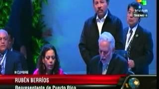 Rubén Berríos - ante CELAC 2015