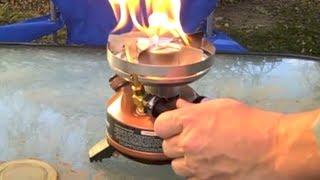getlinkyoutube.com-Coleman Exponent Multi-Fuel Camp Stove Review