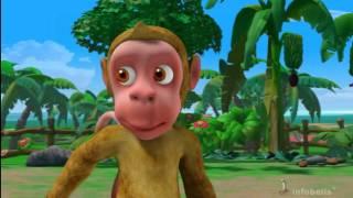getlinkyoutube.com-Monkey Menace Stories for Children in Hindi