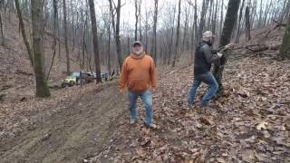 170218   Aetna Mountain Adventures   Weed'Em Out Trail