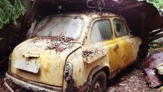 getlinkyoutube.com-Забытые автомобили (часть 2) / Abandoned  Russian cars